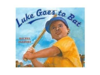 Luke Goes to Bat Vocabulary Power Point