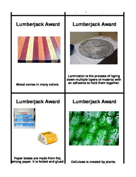 Lumberjack Award for Wood and Paper FOSS