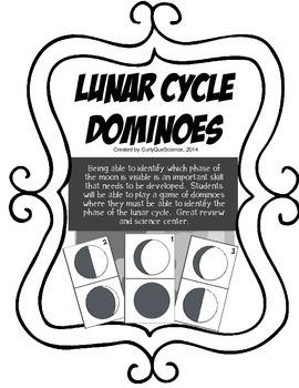 Lunar Cycle Dominoes