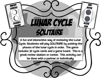 Lunar Cycle Solitaire Games