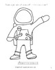 Lunar Landing Coloring Book-Level A