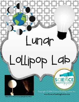 Lunar Lollipop Lab: Discovering Moon Phases