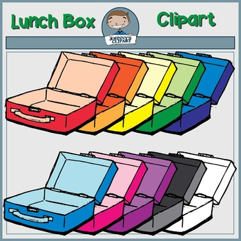 {Freebie} Lunch Box Clipart
