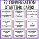 Conversation Starter Cards for Small Group Counseling or L