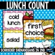 Lunch Count POLKA DOT BRIGHTS