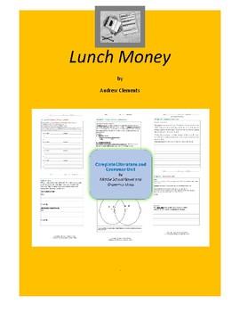 Lunch Money Complete Literature and Grammar Unit