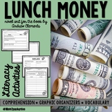 Lunch Money Novel Unit Andrew Clements