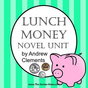 Lunch Money Novel Unit