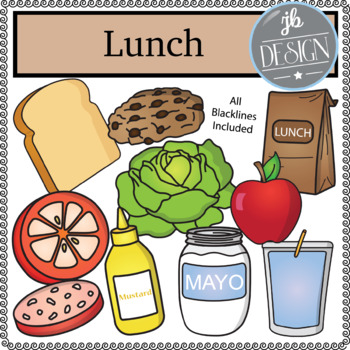 Lunch Pack (JB Design Clip Art for Personal or Commercial Use)