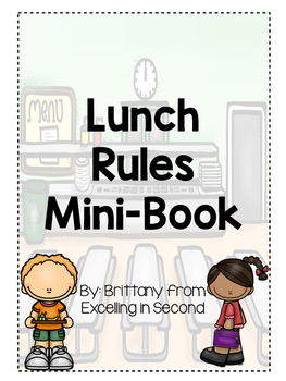 Lunch Rules Mini-Book