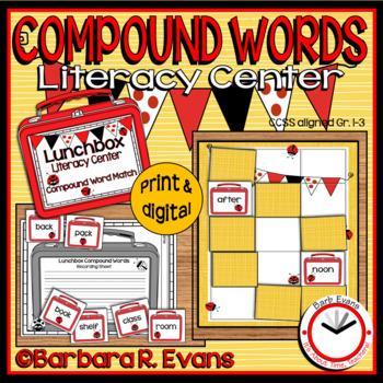 COMPOUND WORDS: Compound Words Literacy Center, Compound W