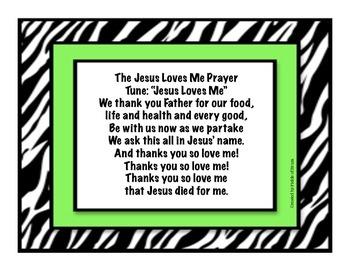 Lunchtime Prayer (FREEBIE)