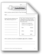 Lunchtime (Thinking Skills)