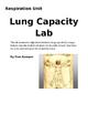 Lung Capacity Lab