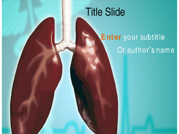 Lung PowerPoint Template