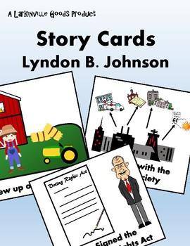 Lyndon B. Johnson Story Cards