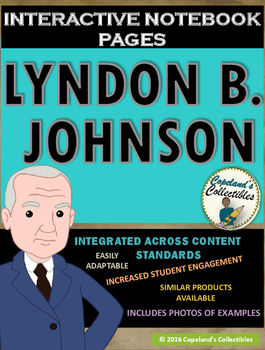 Lyndon B. Johnson's Interactive Notebook Pages
