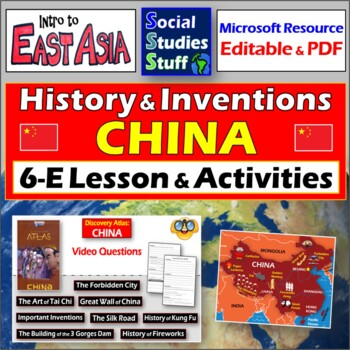 """Discovery Atlas: China Short Stories"" - Complete Lesson w"