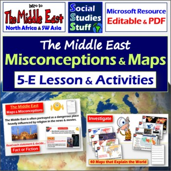 Introduce the Middle East Region- Complete Lesson (SW Asia
