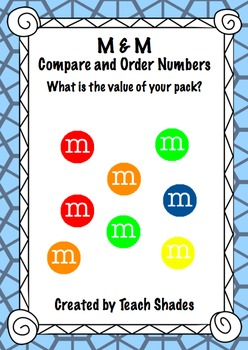 M & M Compare and Order Numbers