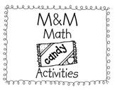 M & M Math Activity