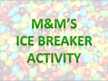 M&M's Ice Breaker Activity