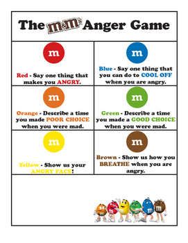 M&Ms Anger Game