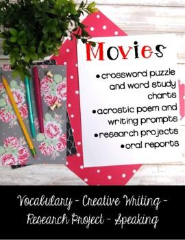 Movies {Theme Based Activities}