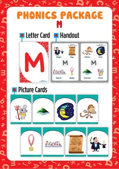 'M' Phonics Resource Package
