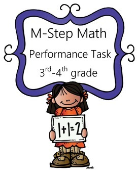 M-Step Math Activity Performance Task: Family Vacation 3rd