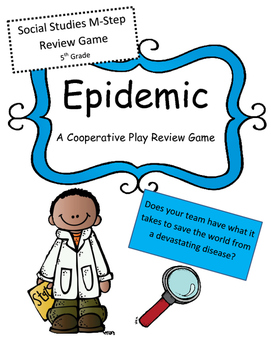 M-Step Social Studies 5th Grade Review Game: Epidemic (Coo