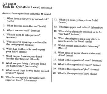 M Worksheet Set Isolation-Conversation