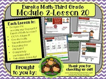 M2L20 Eureka Math-Third Grade: Module 2-Lesson 20 SmartBoa