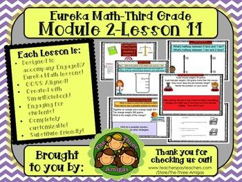 M2L11 Eureka Math - Third Grade: Module 2-Lesson 11 Smartb