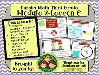 M2L06 Eureka Math-Third Grade: Module 2-Lesson 6 SmartBoar