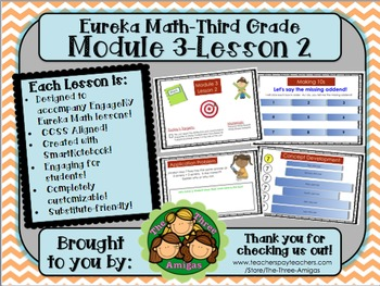 M3L02 Eureka Math-Third Grade: Module 3-Lesson 2 SmartBoar