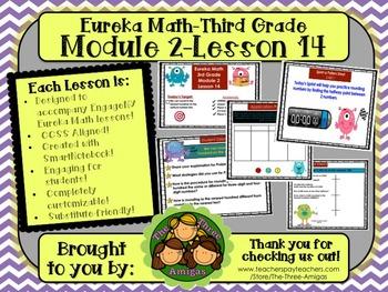 M2L14 Eureka Math-Third Grade: Module 3-Lesson 14 SmartBoa