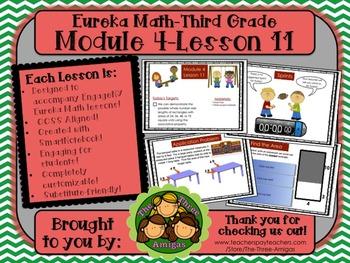 M4L11 Eureka Math-Third Grade: Module 4-Lesson 11 SmartBoa
