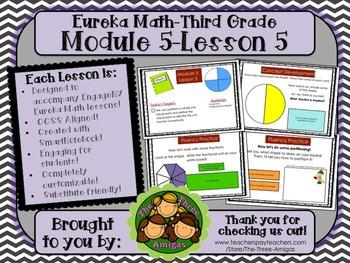M5L05 Eureka Math - Third Grade: Module 5-Lesson 5 Smartbo