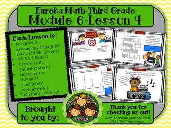 M6L04 Eureka Math - Third Grade: Module 6-Lesson 4 Smartbo
