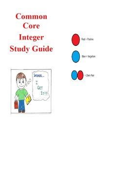 M7 - 1A - Integers Study Guide