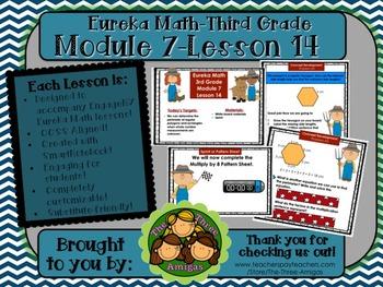 M7L14 Eureka Math - Third Grade: Module 7-Lesson 14 Smartb