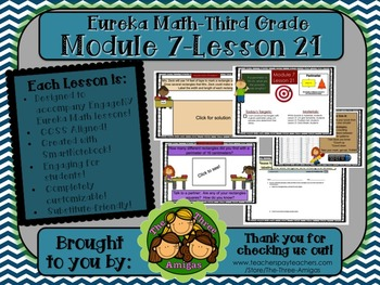M7L21 Eureka Math-Third Grade: Module 7-Lesson 21 SmartBoa