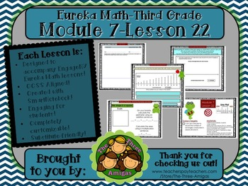 M7L22 Eureka Math-Third Grade: Module 7-Lesson 22 SmartBoa