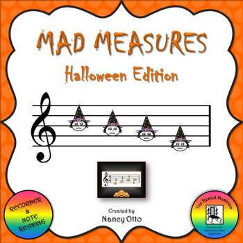 Mad Measures: Halloween Edition - Notes BAGE