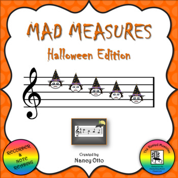 Mad Measures: Halloween Edition - Notes DCBAG