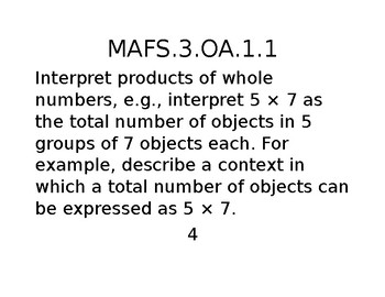 OA.1.1  Chapter 3 GO MATH scales