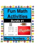 MATH- FUN ACTIVITY-MAGIC NUMBERS BUNDLE 1 (UNIT 1; #1-4)-