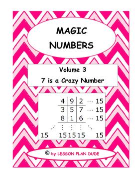 MATH- FUN ACTIVITY- MAGIC NUMBERS VOLUME 3- MATH- NO PREP