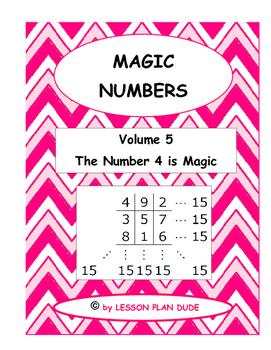 MATH- FUN ACTIVITY-MAGIC NUMBERS VOLUME 5- MATH- NO PREP